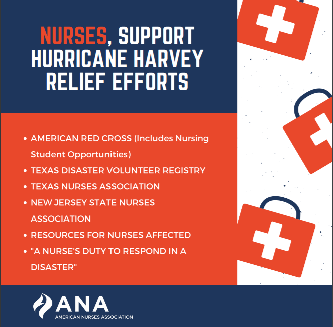 Nurses Answer the Call for Help in Wake of Hurricane Harvey